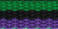 Green/black/purple