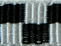 Checkered black/white   15 mm